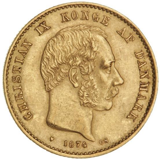 20 kr 1874 CS, H 8A, F 295