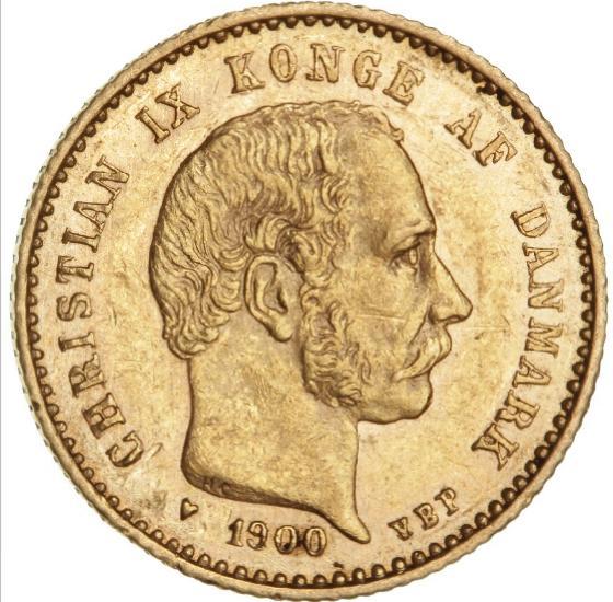10 kr 1900, H 9B, F 296