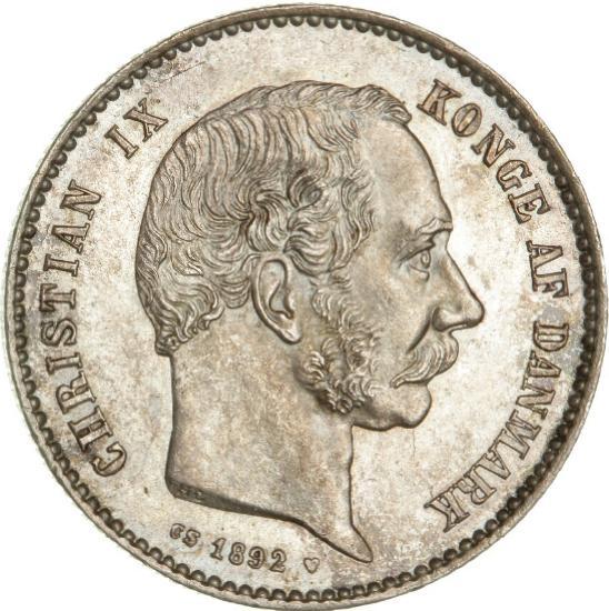 1 kr 1892, H 14A