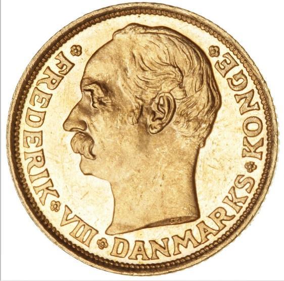 10 kr 1908, H 2, F 298