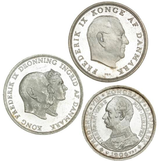 Commemoratives, 1906, 1960 and 1964 in nice condition