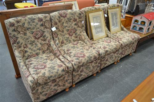 Set Of Four Underseat Storage Chairs