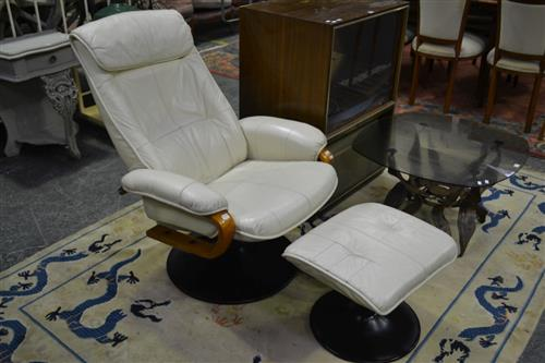 Reclining Armchair and Ottoman