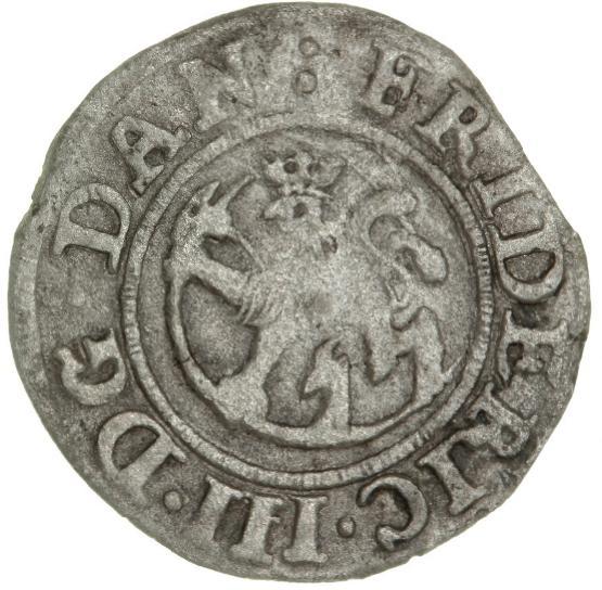 Norway, Frederik III, 2 skilling 1651, NM 210A, H 70A