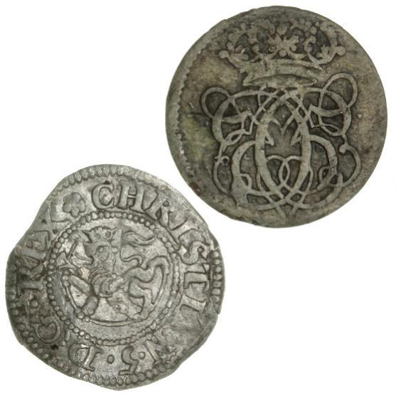 Norway, Christian V, 2 skilling 1683, NMD 153