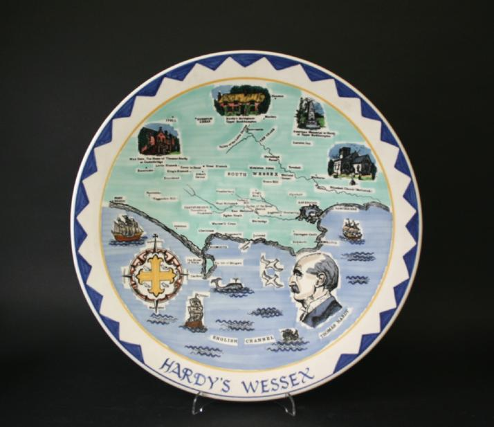 POOLE POTTERY CHARGER