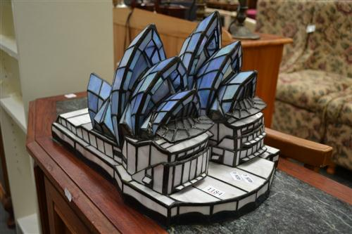 Leadlight Opera House Candle Shade