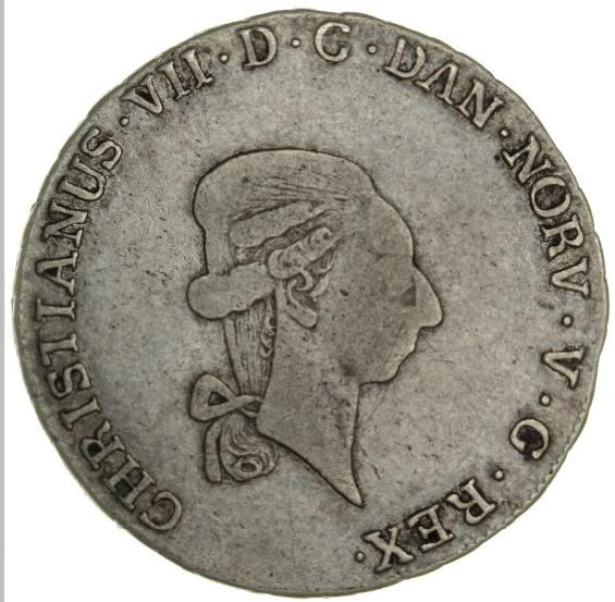 Norway, Christian VII, 1/3 speciedaler 1795, NMD 22, H 6A