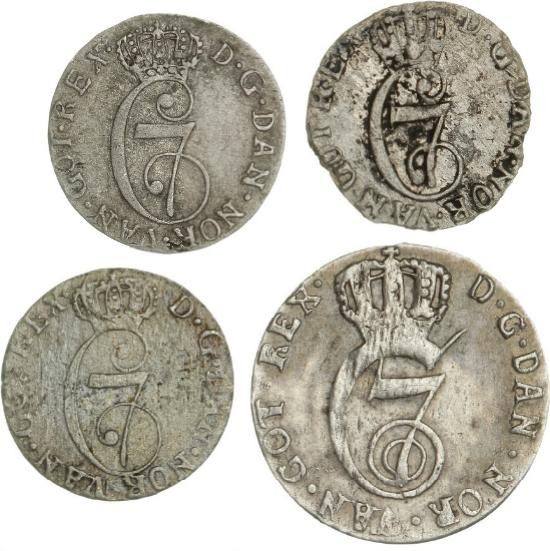 Norway, Christian VII, 8 skilling 1781, NMD 51A