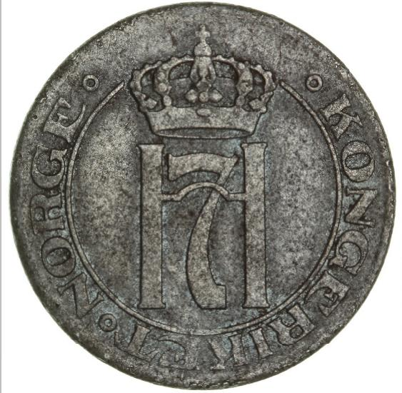 Norway, Haakon VII, 5 øre 1918, NM 152