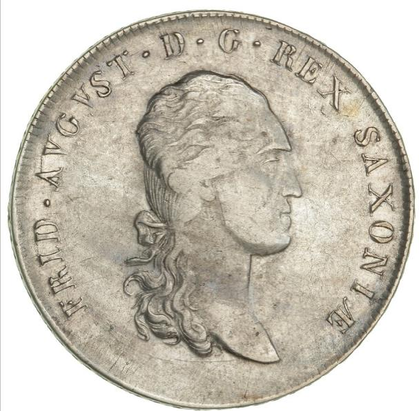 Germany, Saxony, Friedrich August I, Thaler 1813, KM 1059.1