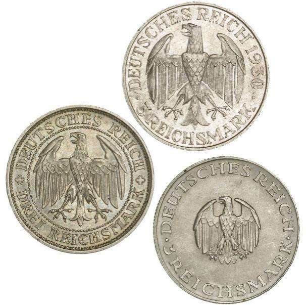Germany, 3 Mark 1929 Meissen