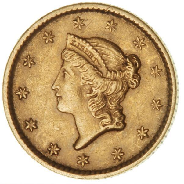 USA, Dollar 1851, KM 73