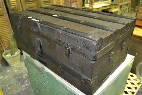 Timber Bound Travelling Trunk