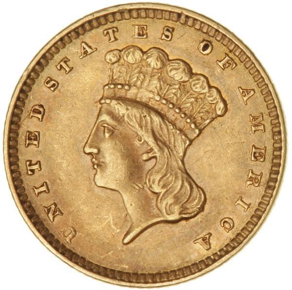 USA, Dollar 1857, Philadelphia Mint, F 94