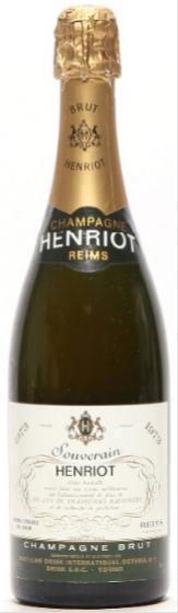 1 bt. Champagne Brut, Henriot 1973 A/B (ts).