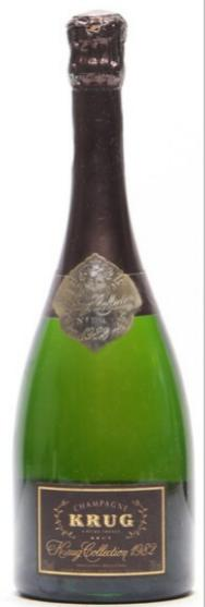 "1 bt. Champagne ""Collection"", Krug 1982 A (hf/in)."
