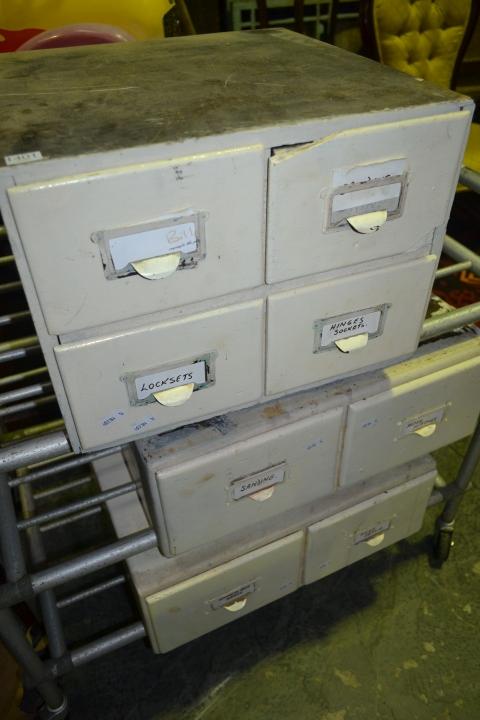 Set of 3 Desk Top File Drawers