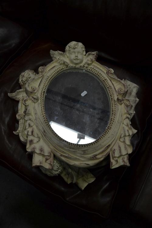 3 Cherub Form Mirrors