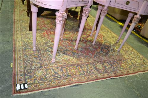 Hand Knotted Carpet (discolouration)