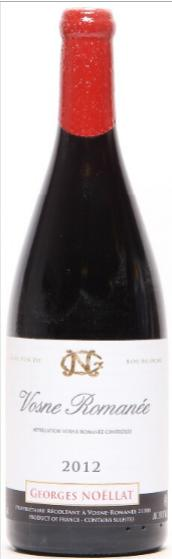1 bt. Mg. Vosne Romanée, Domaine Georges Noellat 2012 A (hf/in)