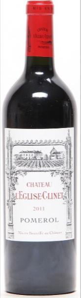 1 bt. Château l'Eglise-Clinet, Pomerol 2011 A (hf/in).