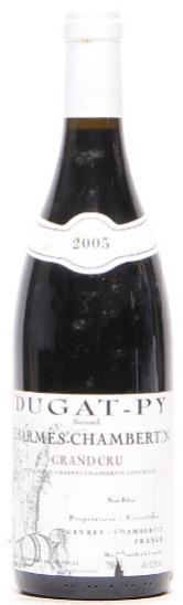 1 bt. Charmes-Chambertin Grand Cru, Bernard Dugat-Py 2005 A (hf/in)