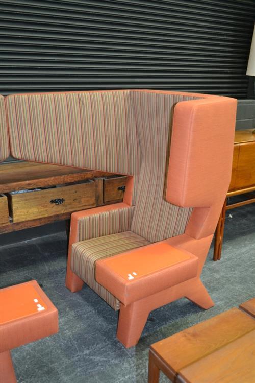 Ear Chair by Prooff in Orange