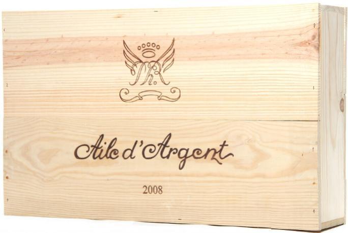 6 bts. Aile d' Argent, Chateau Mouton Rothschild, Bordeaux Blanc 2008 A (hf/in). Owc.