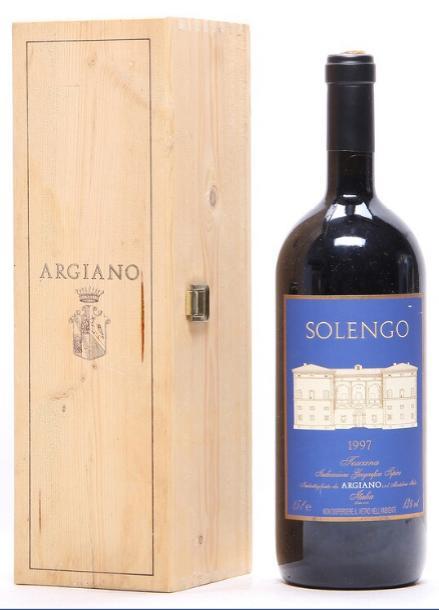 1 bt. Mg. Solengo, Tenuta di Argiano 1997 A (hf/in). Owc.
