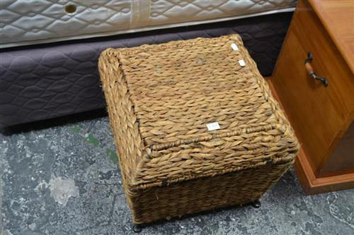 Small Wicker Box