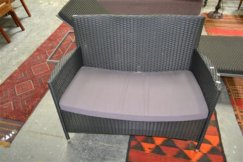 Outdoor 2 Seater Bench