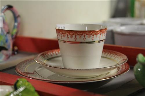 Wilmen Cup Saucer Plate