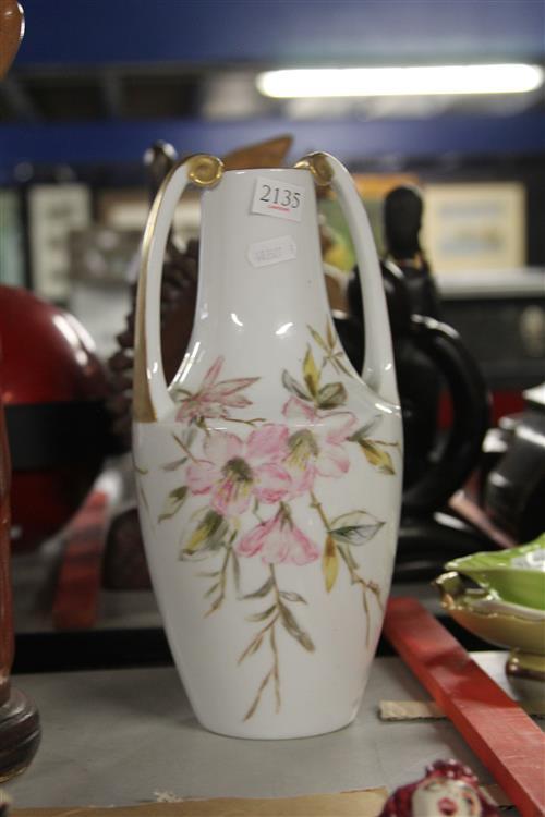 Rosenthal Vase signed B.M. Bubb