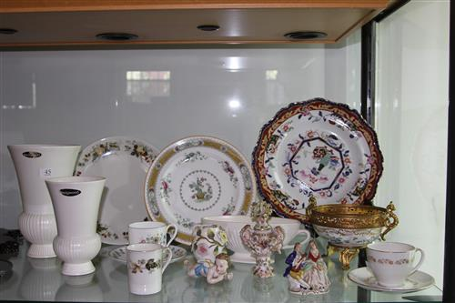 Royal Doulton Fairfax Tea Wares with Others Incl Royal Doulton Plates