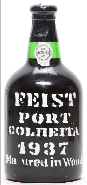 1 bt. Feist Colheita Port 1937 A-A/B (bn).