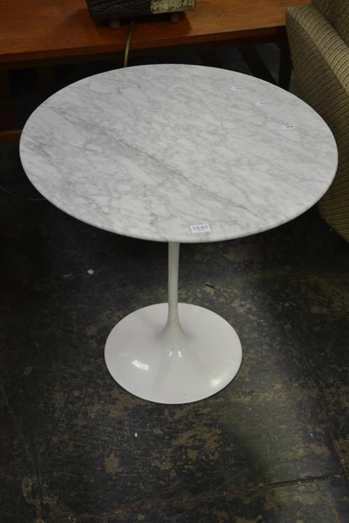 Saarinen Marble Top Side table
