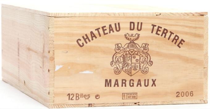 12 bts. Château du Tertre, Arsac - Margaux. 5. Cru Classé 2006 A (hf/in). Owc