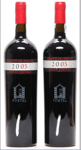 2 bts. Mg. Portal Vintage Port 2005 A (hf/in).