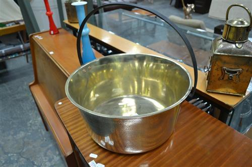 Large Brass Jam Pan