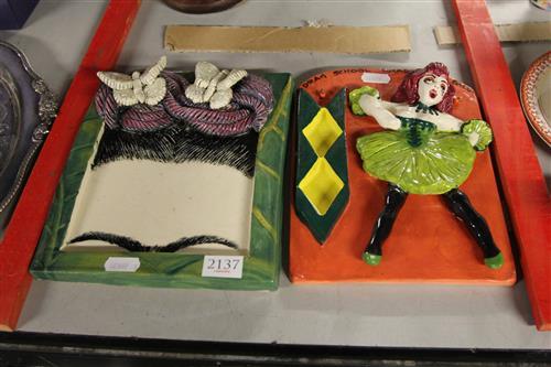 Janice Raynor 'Drag School Graduation Ball' & 'Frida Esperanza' Plaques