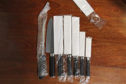 Laguiole 7-Piece Kitchen Knife Set
