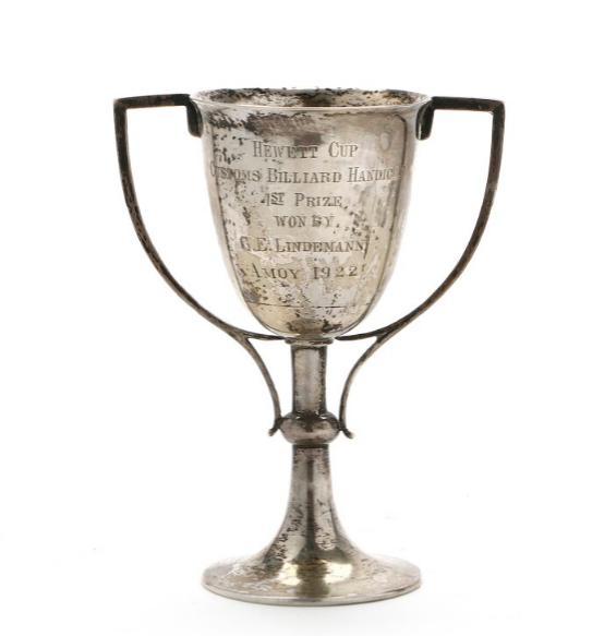 A silver cup, China circa 1920