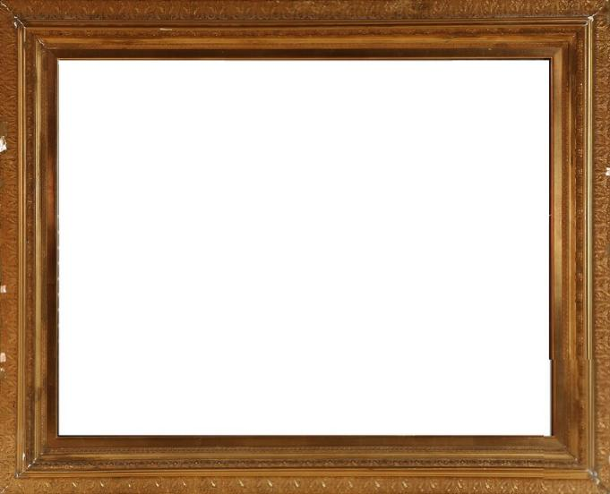 A 20th century guiltwood frame