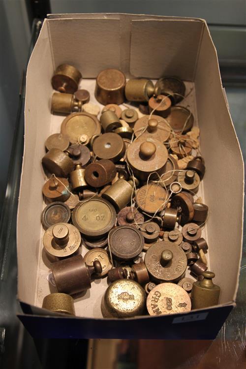 Box of Brass Weights
