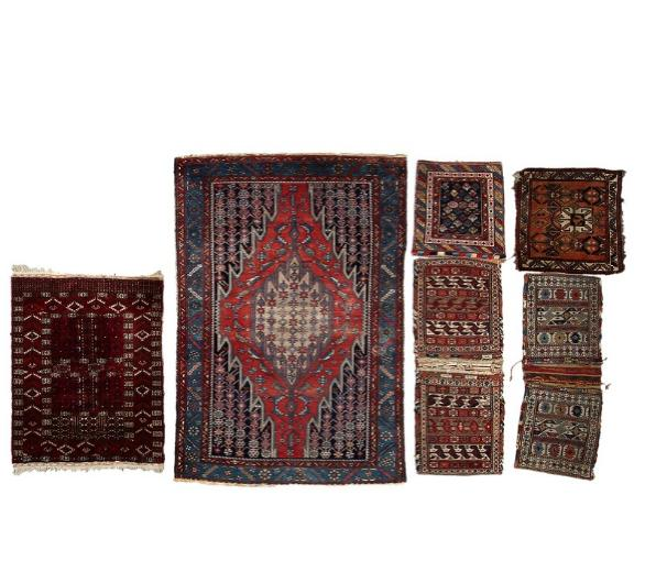 A collection of Oriental rugs
