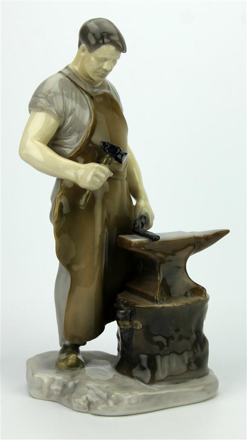 Bing & Grøndahl Figure of a Blacksmith