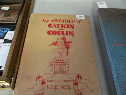 "Gilmore, D.H. ""The Adventures of Catkin & Codlin"", pub. A&R, Sydney 1946"