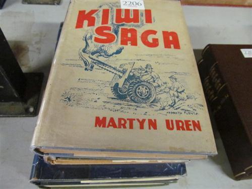 "5 Volumes on War incl. Uren, M. ""Kiwi Saga""; Cuttriss"