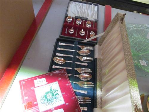 Silver Plated Boxed Wares